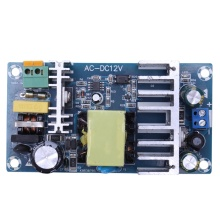 купить 12V high-power switching power supply board module DC power supply module bare board module Blue онлайн