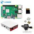 Raspberry Pi 3 B + Plus стартовый комплект 16G micro SD карта + Оригинальный чехол + 5 V/2.5A Система электроснабжения ЕС с кабелем + радиатор