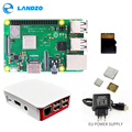 Raspberry Pi 3 B + Plus + Kit de iniciación 16G tarjeta micro SD + caso Original + 5 V/ 2.5A UE fuente de alimentación con cable + disipador de calor