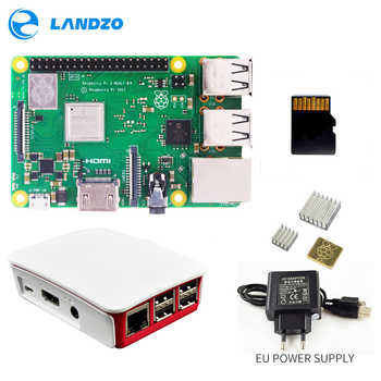 Raspberry Pi 3 B+ Plus Starter Kit 16 G micro SD card + Original Case +5V/2.5A EU Power Supply with cable + Heat Sink - DISCOUNT ITEM  0% OFF All Category
