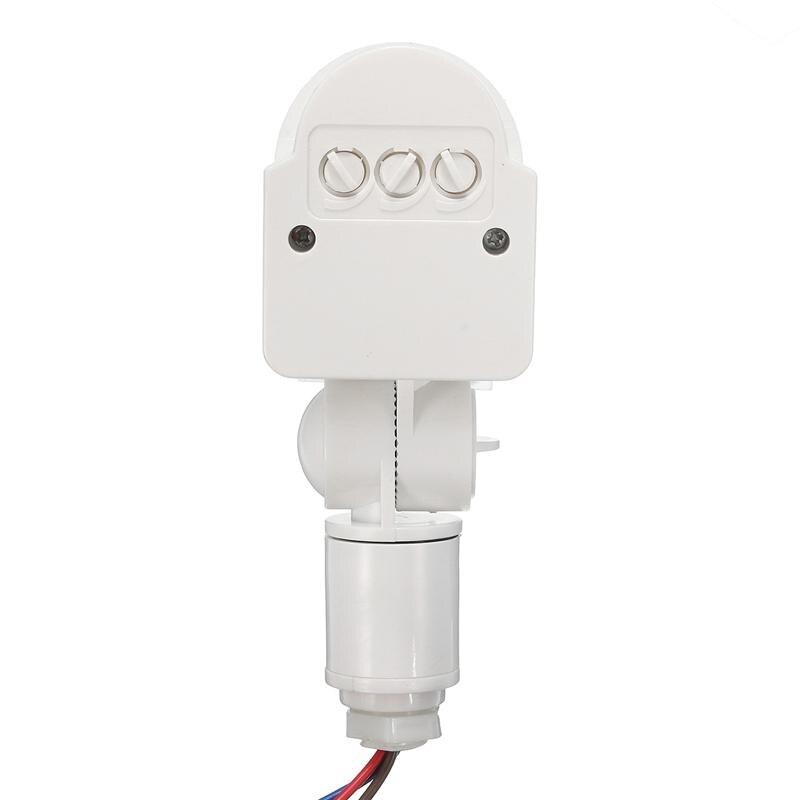 Safurance 12М открытый безопасности инфракрасный PIR движения датчик детектор стены светодиодный свет RF 180 градусов домашней безопасности