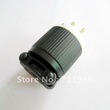J 710 NEMA plug American UL wiring 5 15p plug NEMA usa wiring connector US generator j 710 nema plug, american ul wiring 5 15p plug, nema usa wiring