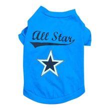 595c7ae401 T-Shirt Colete Casaco pequeno Cão Gato Pet Roupas Trajes Da Moda Camisas De  Futebol
