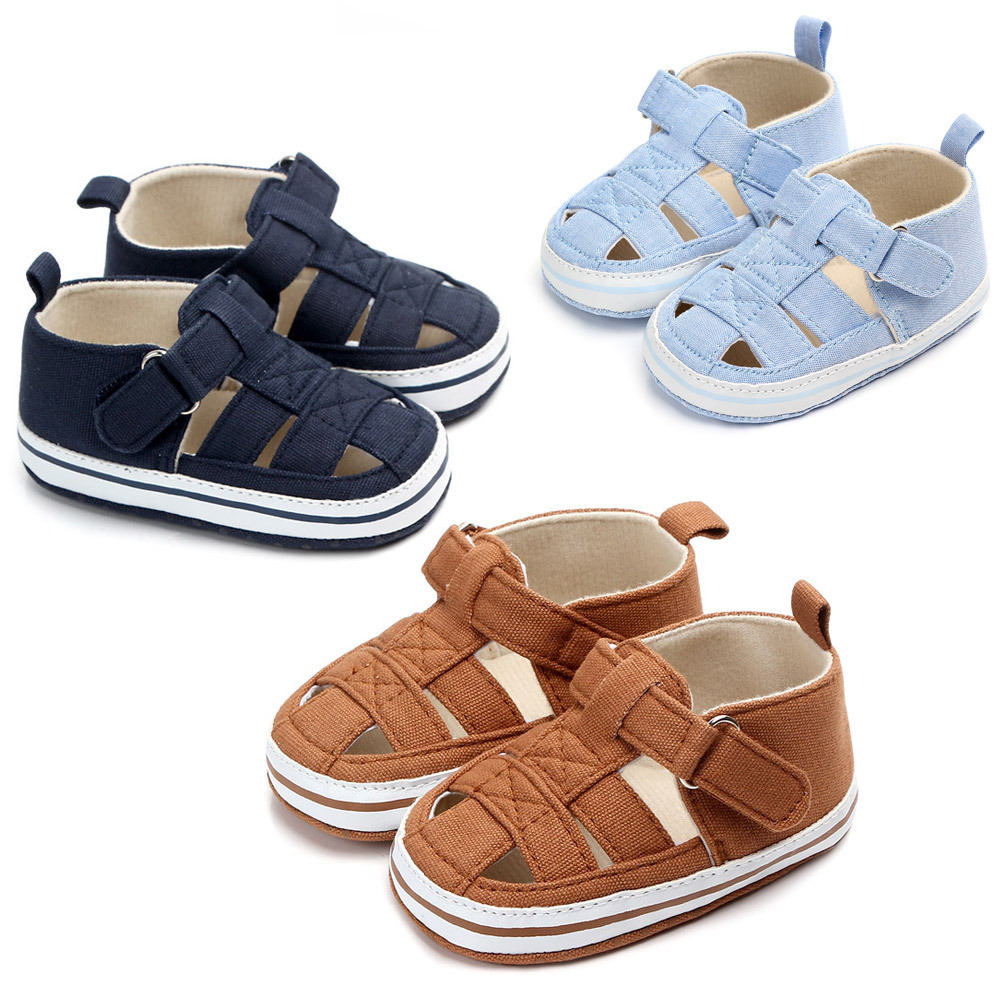 Summer Baby Boys First Walkers Infant Bebe Barefoot Summer Shoes Indoor Slippers Newborn Baby Crib Shoe Toddler Boy Booties