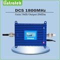 Señal de refuerzo DCS1800mhz repetidor de DCS 1800 repetidor de señal celular amplificador sinal con Pantalla LCD Ganancia 70dB