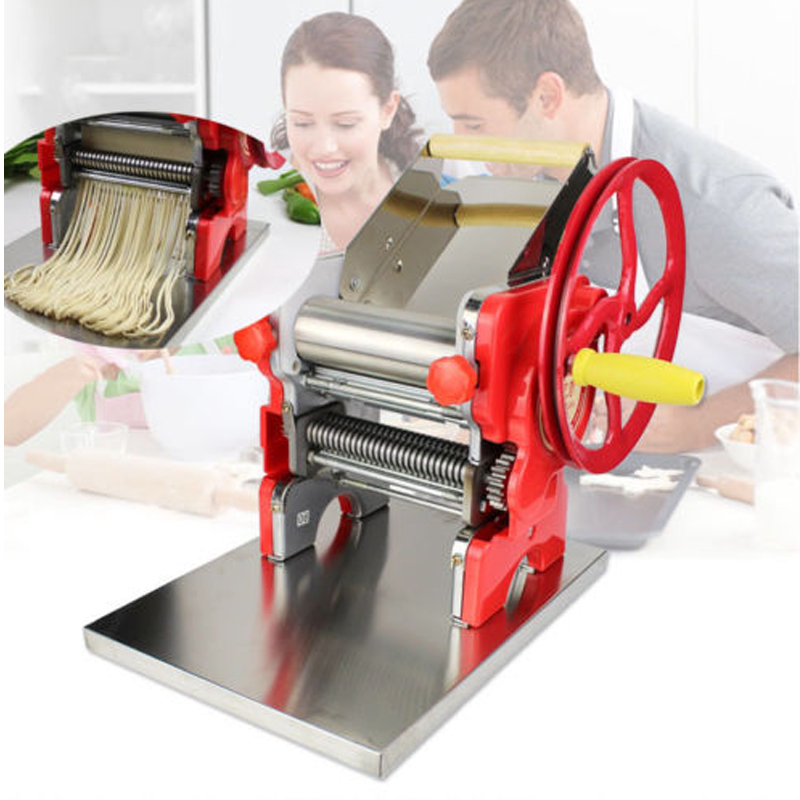 High Quality Mult-functional Manual Noodle machine Pasta Dumpling Skin Maker Machine Fast Shipping 1pc household mini pasta machine manual metal spaetzle makers pressing machine pole head mingled split noodle tools
