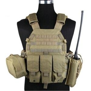 Image 4 - EMERSONเกียร์LBT6094Aสไตล์เสื้อกั๊กกระเป๋าAirsoft Painballกองทัพทหารเกียร์EM7440F AOR2