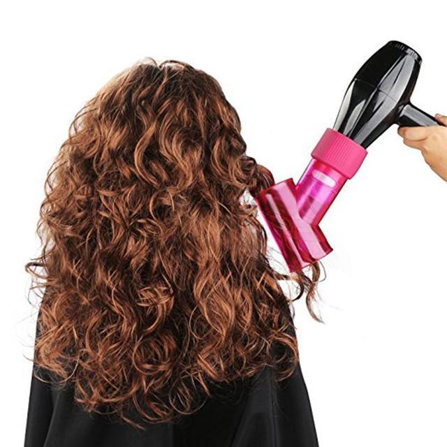 5 colores Universal pelo rizo difusor secador de pelo cubierta difusor disco secador de pelo rizado secador de pelo rizador herramienta de estilismo