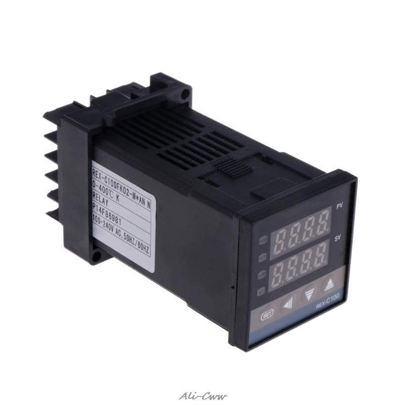 PID Digitale Temperatur Controller REX-C100 (M) 0 Zu 400 grad K Typ Relais Ausgang