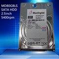Новый 2.5 inch HDD 80 ГБ 5400 Об./мин. 8 М Буфф SATA Внутренний Жесткий Диск Для Ноутбука Notebook
