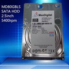 Marke Neue 2,5 zoll HDD 80 GB 5400 Rpm 8 Mt Buff SATA Interne Festplatte Für Laptop Notebook