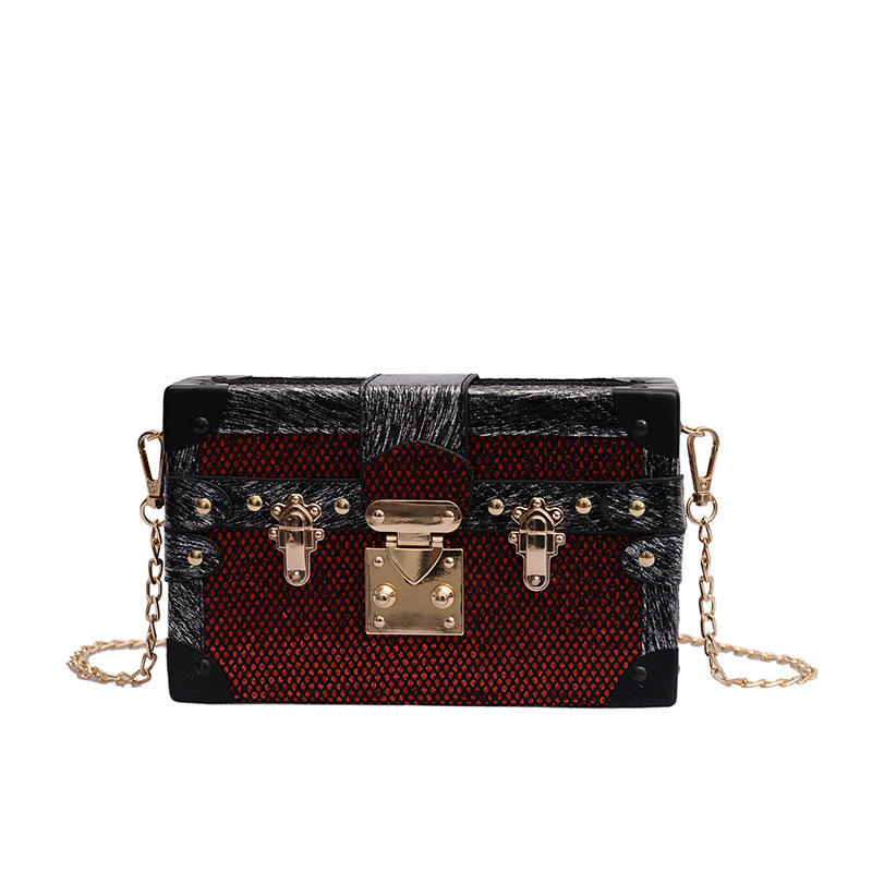 Brand Design Korean Vintage Shoulder Bag small Flap bag female 2019 new fashion Large capacity chain Crossbody Bag Messenger bag 5