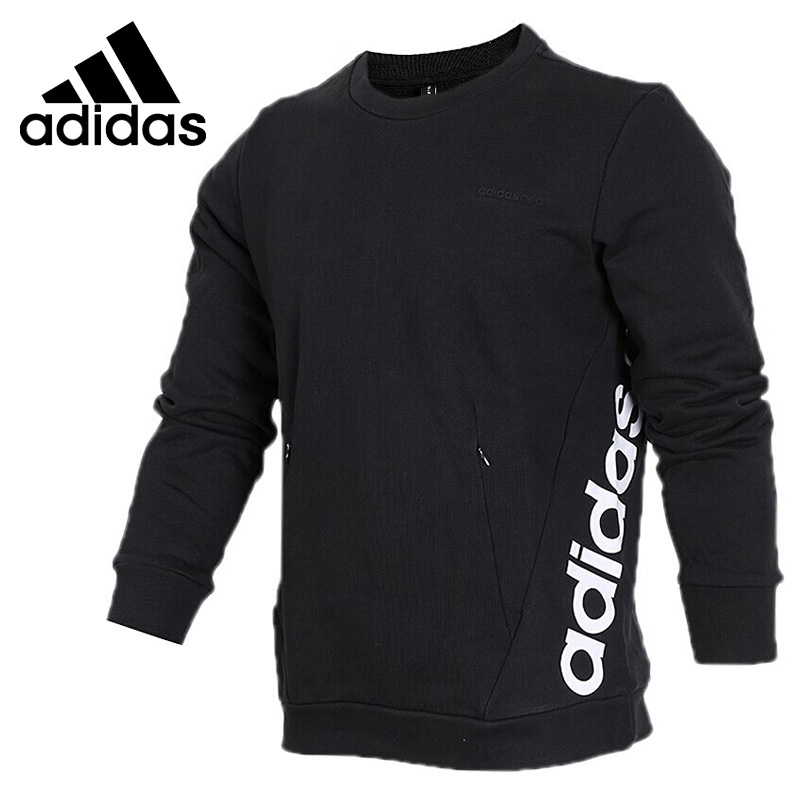 Original New Arrival 2018 Adidas NEO LABEL SWT FT LOGO Men's Pullover Jerseys Sportswear все цены