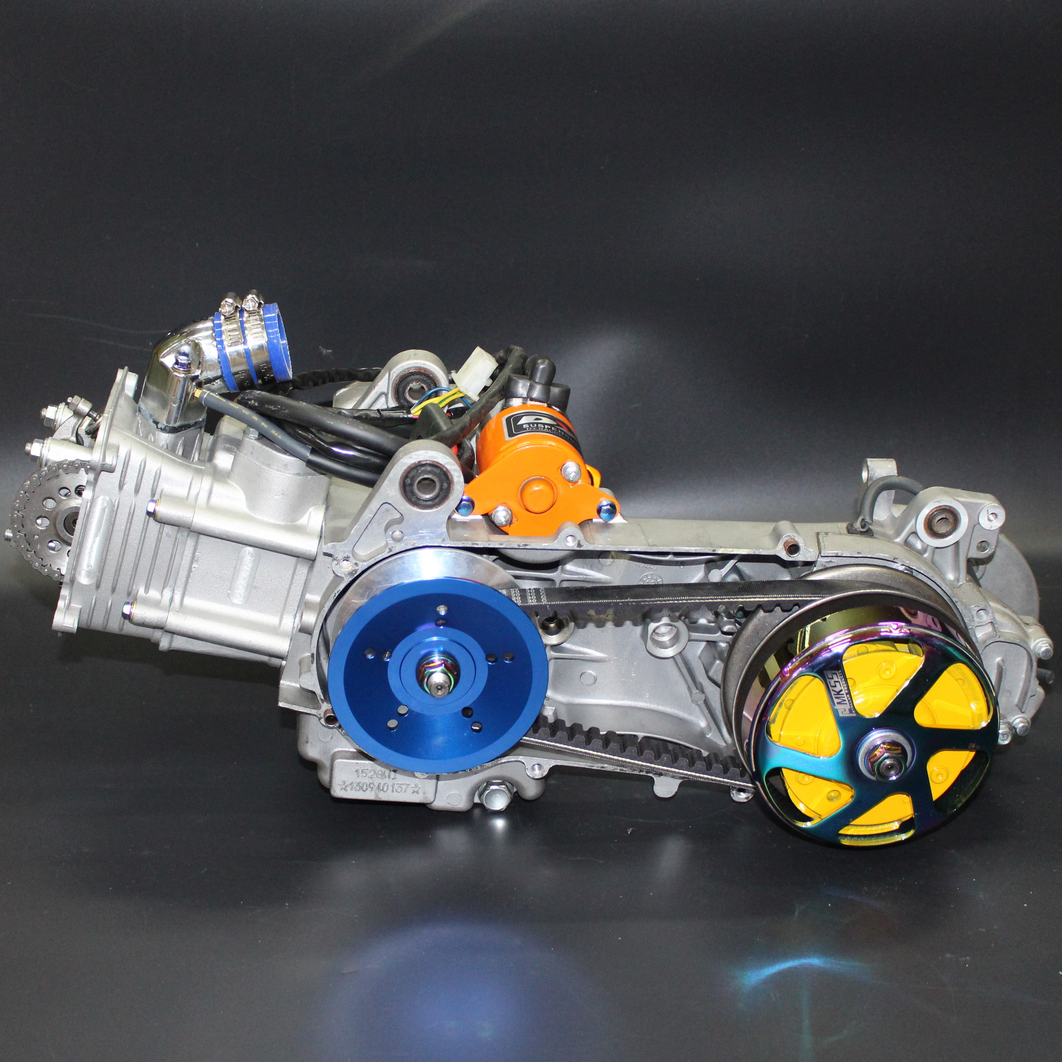 GY6, Motor, 63mm, Cylinder, 2 Valve, Crankshaft ,300, Water Cooling ,camshaft ,a8, 180cc, Tuning, Racing, Engines