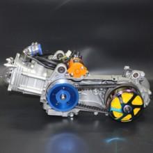 Двигатель qmb 157 200 cc полный комплект для китайского скутера водяное охлаждение распредвал A8 расточен блок под цилиндр с поршнем 63 мм