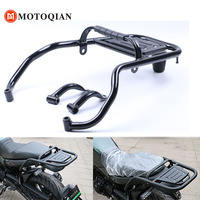Motorbike Parts For Benelli BJ500 Leoncino Luggage Rack Bar Accessories Motorcycle Rear Tail Wing Shelves Armrest Holder Guard