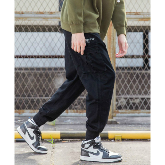 841daf04 2018 High Quality Mens Cargo Pants Japan Style Youth Student Sweatpant  Pocket Casual Men Trousers Fashion Streetwear Mens Jogger