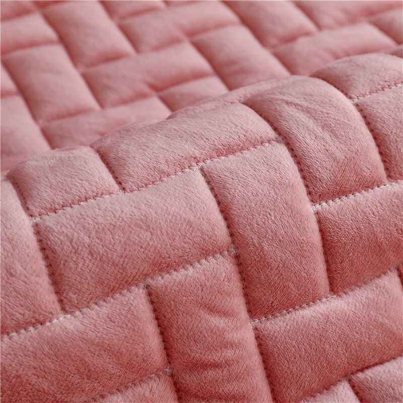 أغطية أريكة قطيفة مقاومة للانزلاق من البوليستر لحماية الأريكة في الشتاء غطاء مقعد الأريكة منشفة الأريكة لغرفة المعيشة ديكور أريكة على شكل حرف L