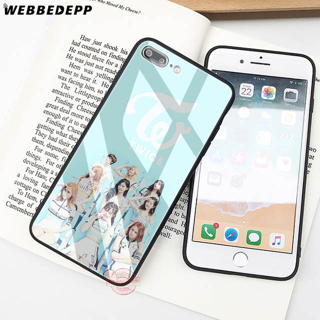 Webbedepp Twice Mina Momo Kpop Tempered Glass Phone Case For Apple Iphone Xs Max Xr X 8 7 6s Plus 5s Se Cover In Fitted Cases From Cellphones Telecommunications On Aliexpress Com