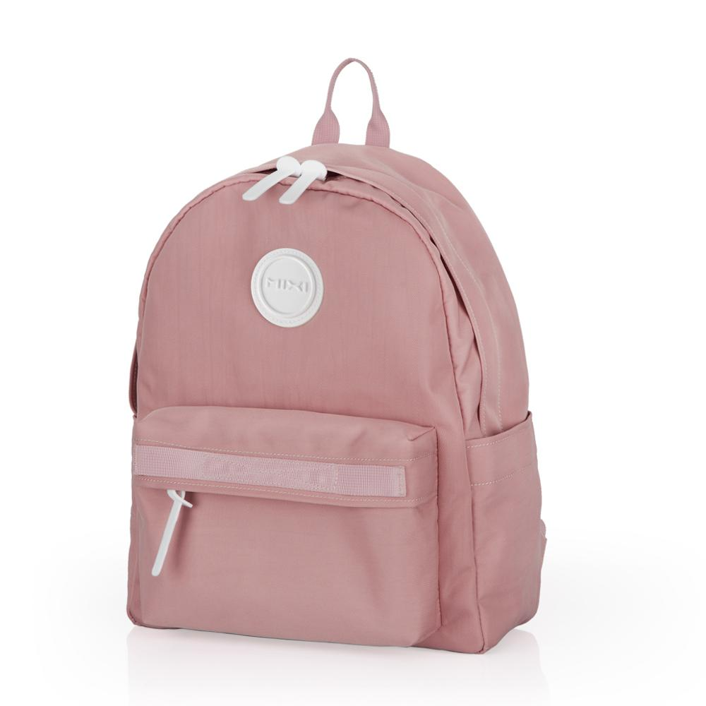 Mixi 2019 New Preppy Style Backpack Women School Bags For Teenagers Large Capacity Man College Student