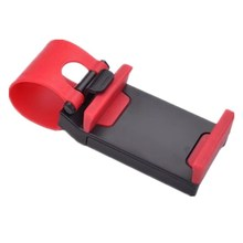 Car Holder Steering Wheel Clip Mount Cell Phone Mobile Holder Universal For IPhone Support Bracket Hang-up Mobile Phone Seat цена