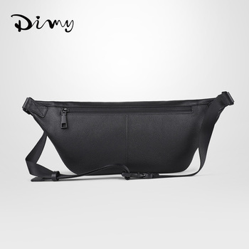 new leather casual soft leather personality large-capacity first layer leather diagonal cross-flow pock