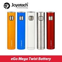 Original Joyetech EGo Mega Twist Battery 2300mAh Electronic Cig Battery 30W Support 0 2 3 5ohm