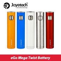 Original Joyetech EGo Mega Twist Battery 2300mAh Electronic Cig Battery 30W Support 0 2 3 5ohm