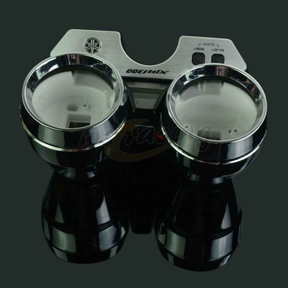 Motorcycle Speed Meter Clock Instrument Case Gauges Odometer Tachometer Housing Box Cover For <font><b>Yamaha</b></font> XJR1300 <font><b>XJR</b></font> <font><b>1300</b></font> 1998-2002 image