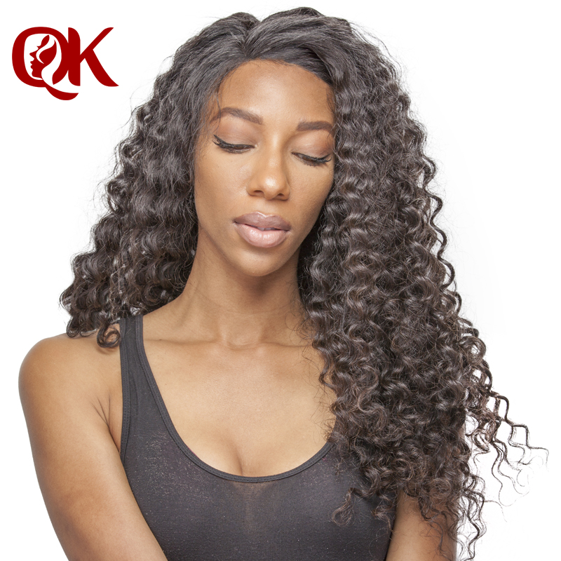QueenKing font b Hair b font Brazilian Deep Wave Remy font b Hair b font Natural