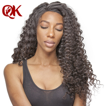 QueenKing Hair Brazilian Deep Wave Remy Hair Natural Color 100% Human Hair Bundles 12-26 inch Free Shipping