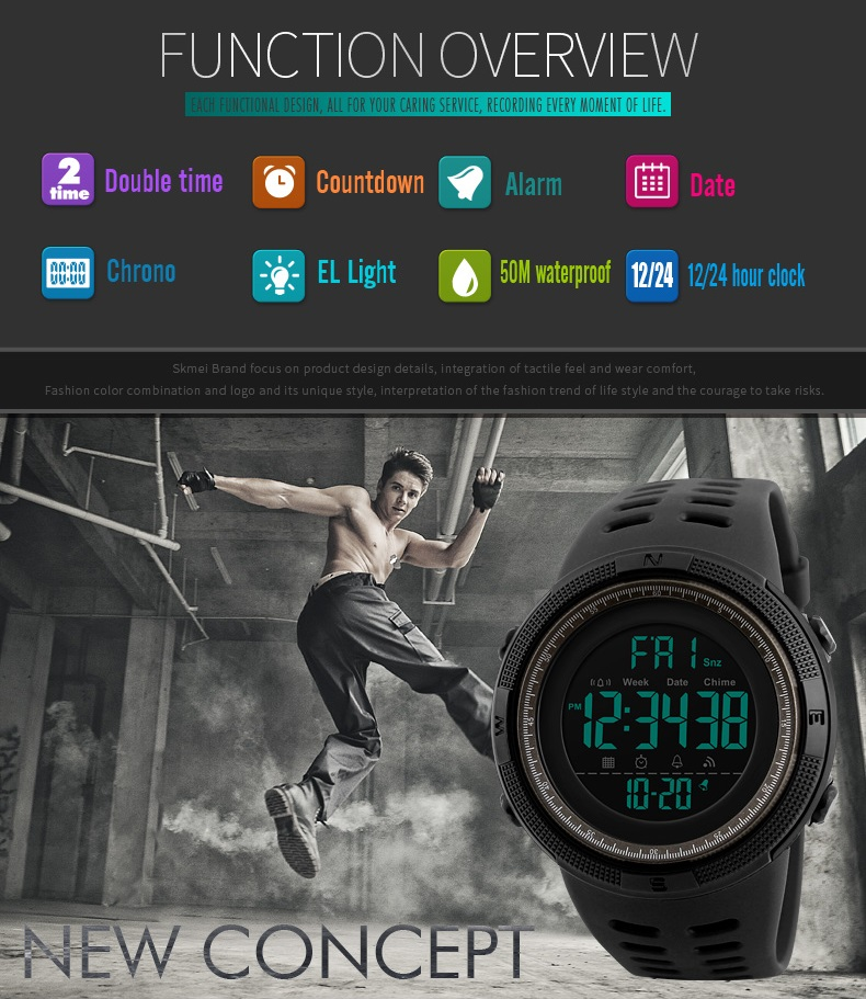 HTB14gGbmgoQMeJjy1Xaq6ASsFXaX SKMEI Brand Mens Sports Watches Luxury Military Watches For Men Outdoor Electronic Digital Watch Male Clock Relogio Masculino