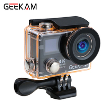 Original GEEKAM H3R H3 action camera 4K wifi Ultra HD 1080p60fps 720P120FPS pro waterproof mini cam bike video camera sport