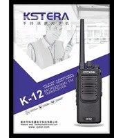 12W High Power Two Way Radio KSTERA K12 10KM long Distance Portable Walkie Talkie Radio FM transceiver with 4000Mah battery