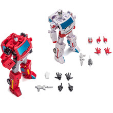 Lensple NEW Newage NA Transformation H7 Ratchet H8 Ironhide G1 Mini Pocket War Action Figure Robot Toys mp27 masterpiece ironhide with drill