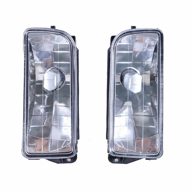 Clear Lens Fog Lights For BMW E36 3 Series 2/4Dr Chrome Bumper Lamps 1992-1998 //