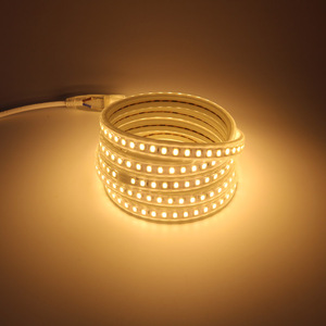 120 led/m 5730 LED Light Strip Tube 5 10 15 20 25 30 100 Meters Flex Rope with EU Power Cord Plug Warm white Cold white