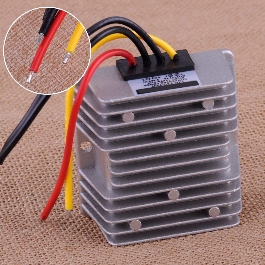 CITALL DC Voltage Stabilizer 8-40V to 12V 6A 72W Power Supply Converter Regulator Waterproof Dustproof Shockproof