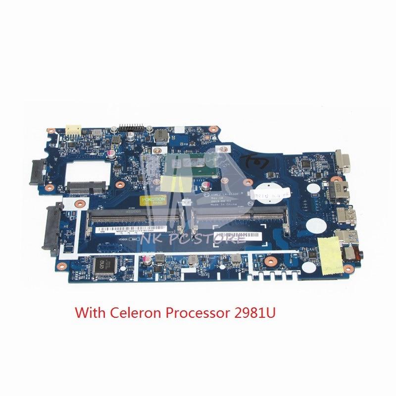NOKOTION For Acer aspire E1-532 E1-572 E1-572G Laptop Motherboard V5WE2 LA-9532P NBMFM1100K SR1DX 2981U CPUNOKOTION For Acer aspire E1-532 E1-572 E1-572G Laptop Motherboard V5WE2 LA-9532P NBMFM1100K SR1DX 2981U CPU