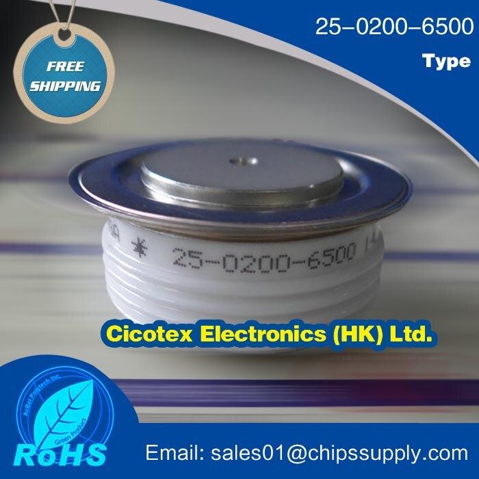 5 pcs/lot 25-0200-6500 IGBT 2502006500 MODULE de Thyristor SCR