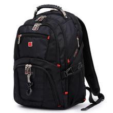 Männer Frauen Schweizer rucksack 15,6 Laptop Rucksack Computer Notebook Schule Reisetaschen Unisex Große Kapazität multifunktions nylontasche