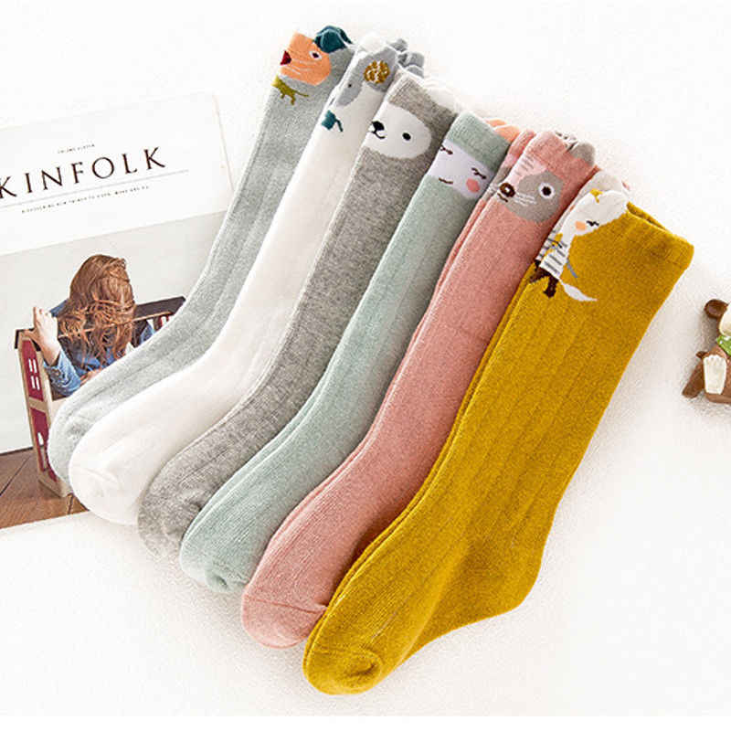 Baby Girls Toddler Kids Pure Cotton Warm Stockings Cute Winter Infant Pantyhose For 1-3Y
