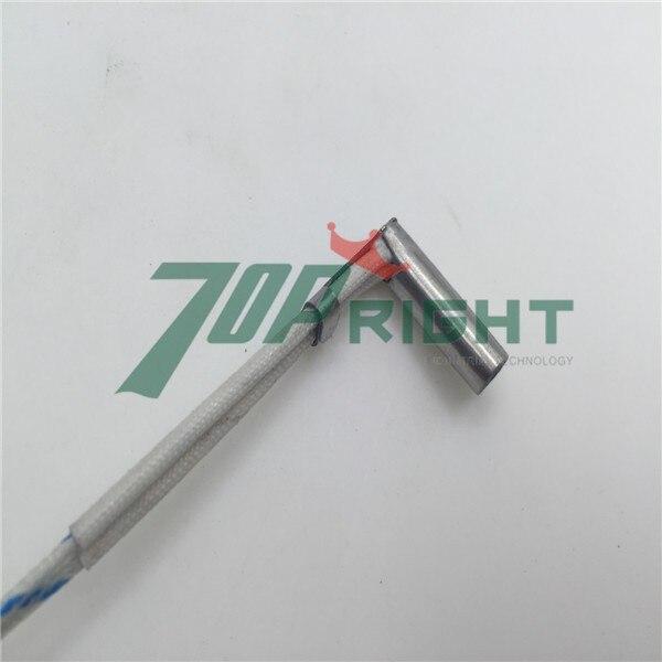 Dia 6x20mm right angle cartridge heater 24v 80w