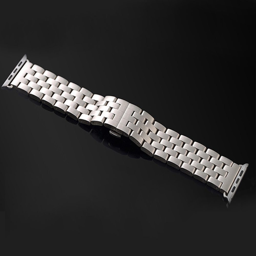 38mm 42mm Stainless Steel Men's Watch Band for Apple Watch