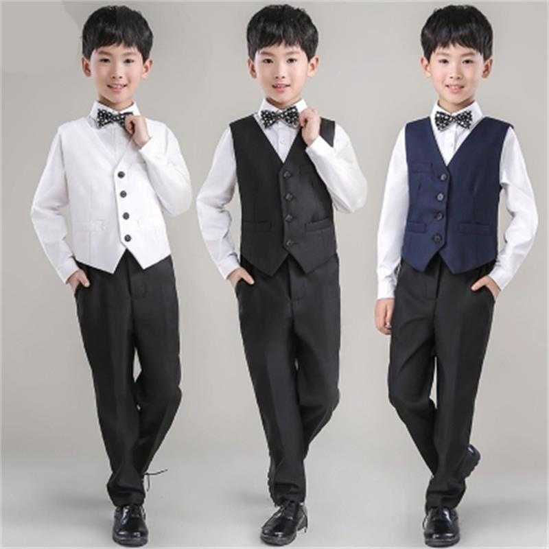 New Fashion baby boys suit kids blazers boy suit for weddings prom formal spring autumn wedding dress boy suits Horse clip suit hot sale top quality baby boys spring autumn casual blazers jacket wedding suits for boy formal children clothing kids prom suit