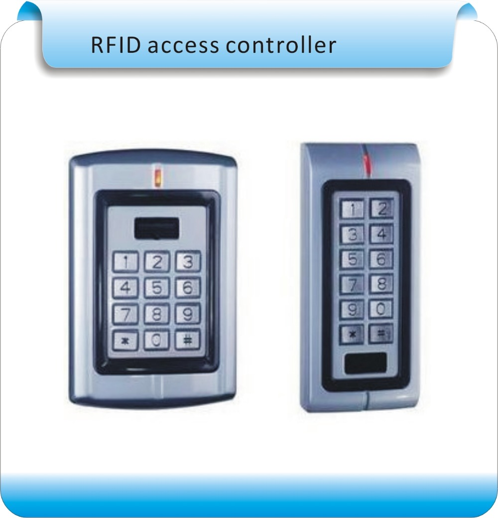 DIY Access control metal shell RFID 125KHZ access control +password machine access control electrolock