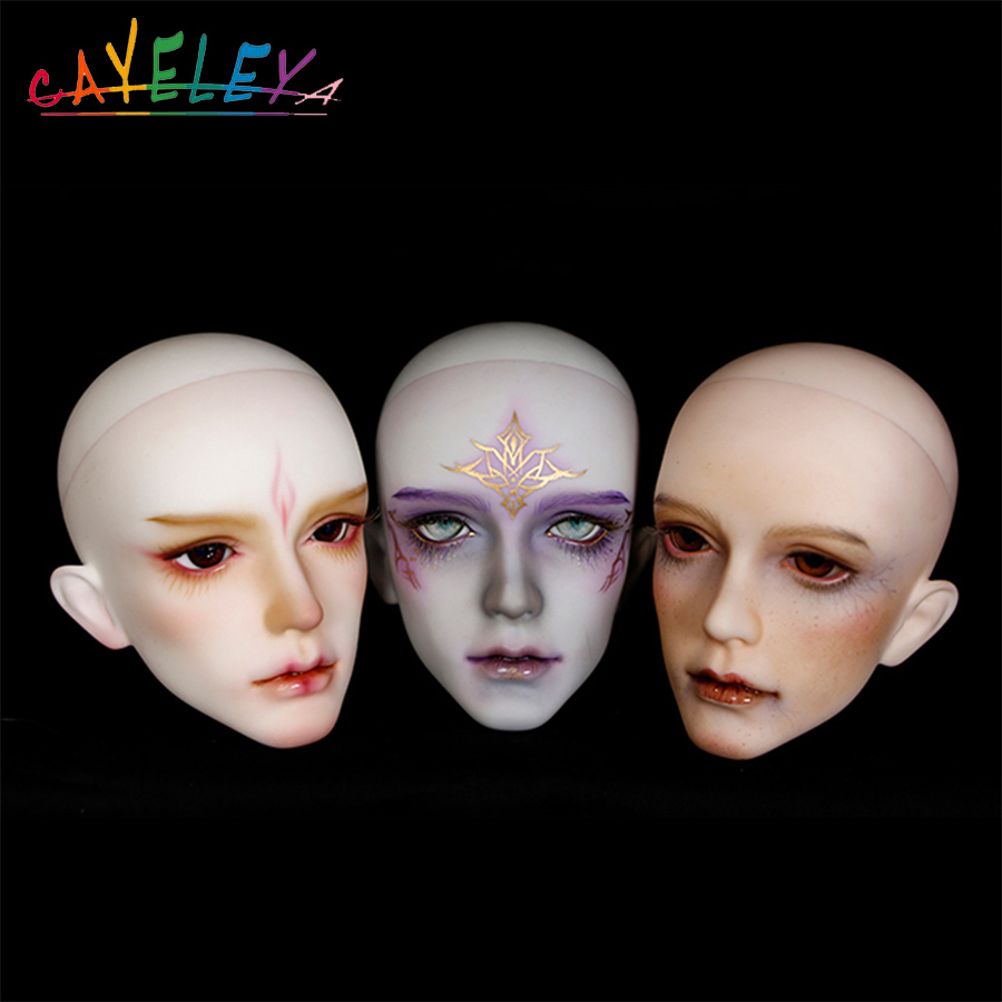 Cateleya BJD doll accessories change makeup single head makeup head Teaching head SD doll