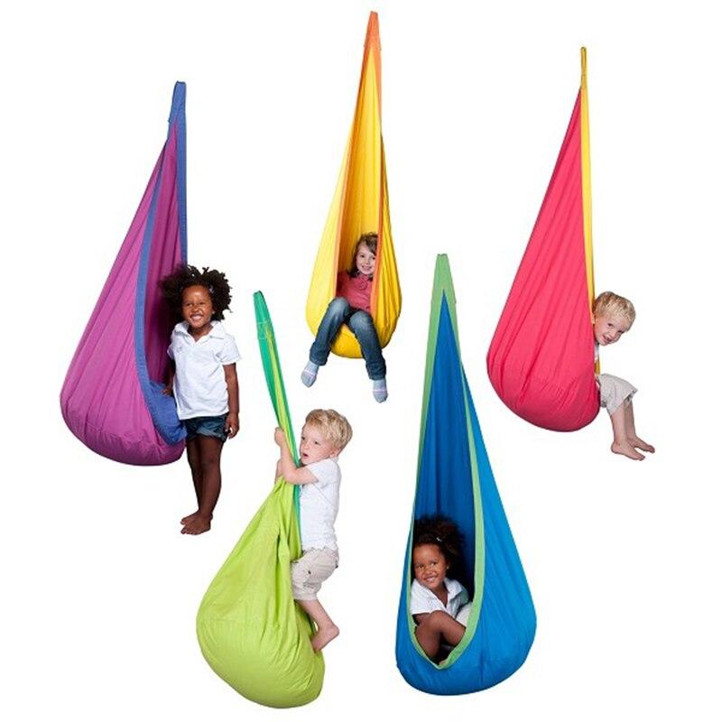 Baby Spielzeug Schaukel Hängesessel Indoor Outdoor Hängen Spielzeug Schaukel Stuhl Sitz hangstol für lesen zelt entspannen-in Schaukeln aus Spielzeug und Hobbys bei  Gruppe 1