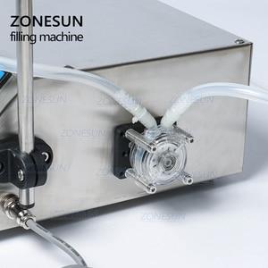 Image 2 - Zonesun Peristaltische Pomp Fles Water Filler Vloeibare Flacon Vulmachine Drank Olie Parfum