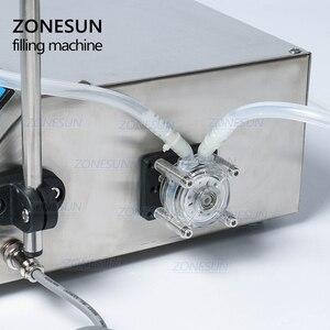 Image 2 - Zonesun蠕動ポンプボトル水フィラー液バイアル充填機飲料ドリンクオイル香水